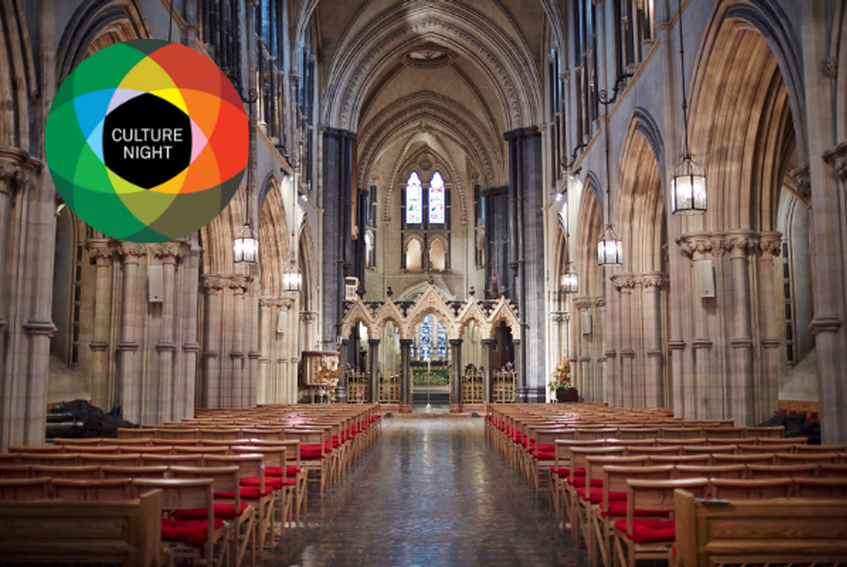 Culture Night: FREE SELF-GUIDED TOURS of Christ Church Cathedral