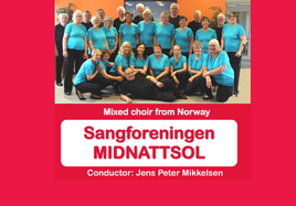 Lunchtime performance by Sangforeningen MIDNATTSOL from Norway